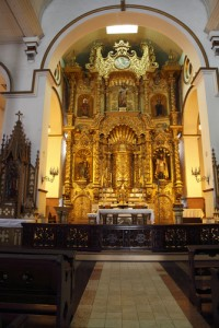 church of san jose golden altar