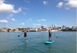 Paddle in Casco Viejo Panama