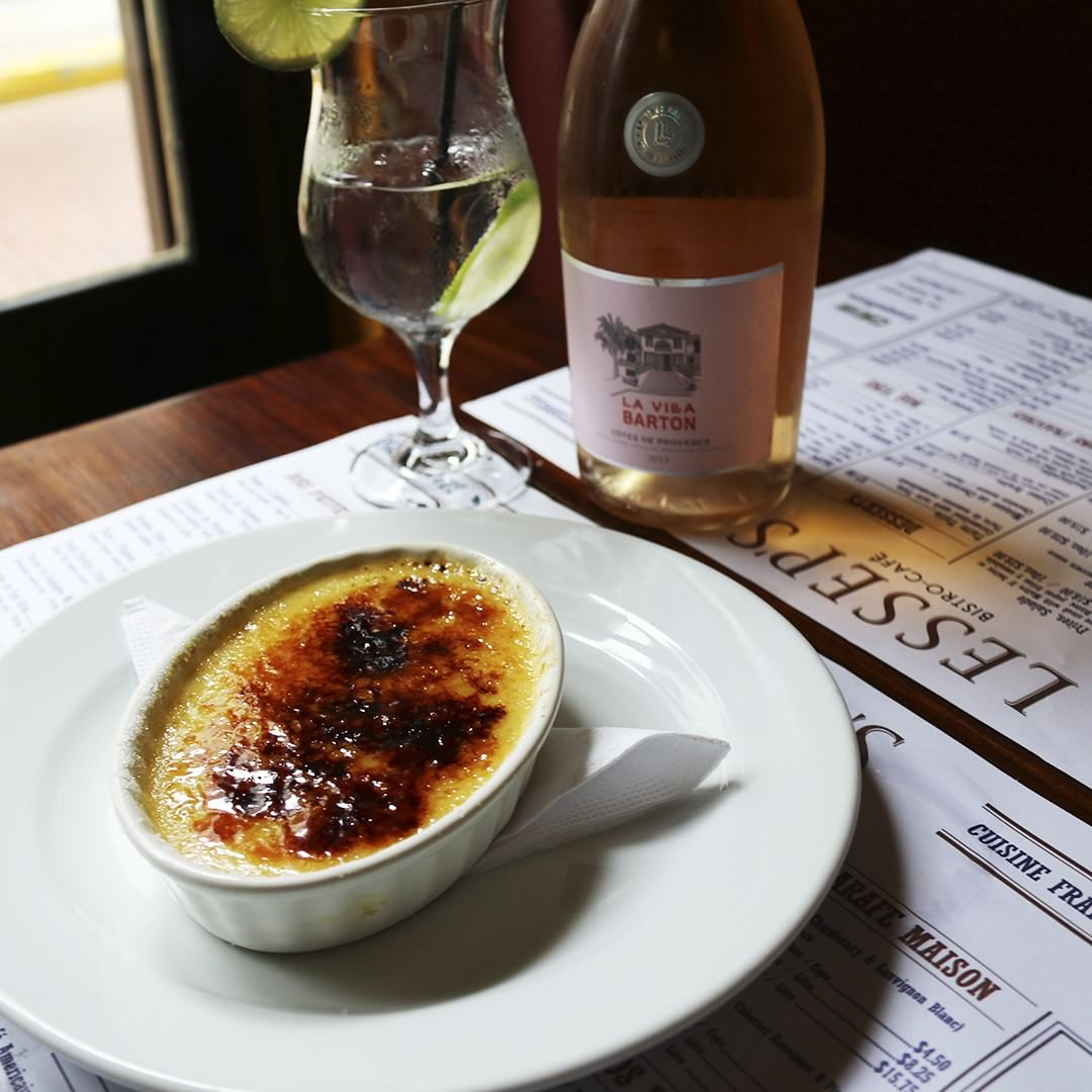 Creme Brulee of Lesseps Bistro Cafe in Casco Viejo Panama