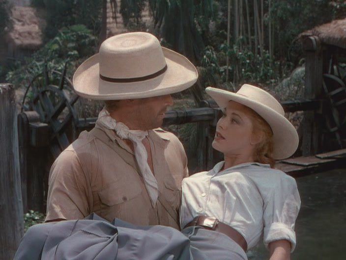 Panama Hat in The Naked Jungle Charlton Heston Eleanor Parker