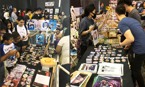 Comic Con Panama 2019 Artist Alley